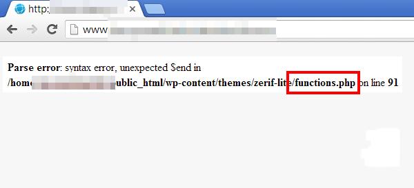 رفع syntax error
