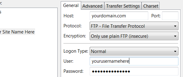 دسترسی به فایل ها به کمک FTP
