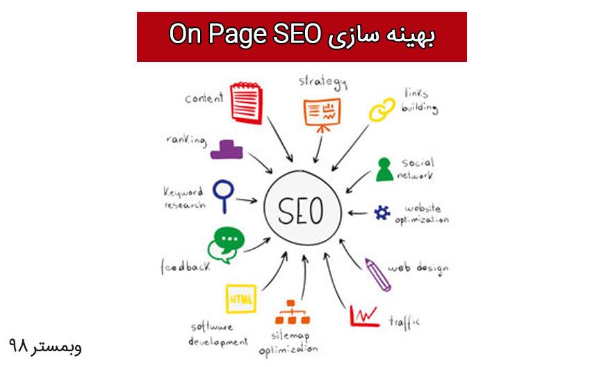 بهینه سازیOn Page SEO