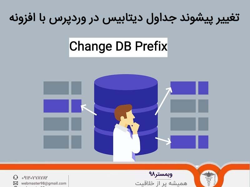 تغییر پیشوند جداول دیتابیس در وردپرس با افزونه  Change DB Prefix