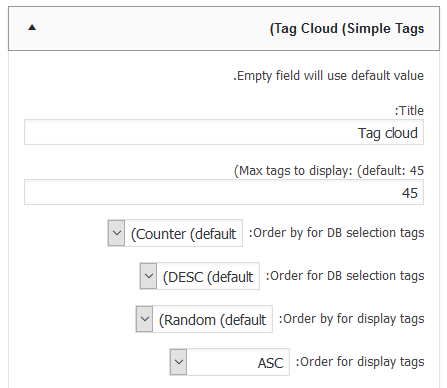 ابزارک cloud-tags