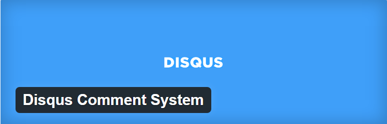 افزونه وردپرس DISQUS COMMENT SYSTEM