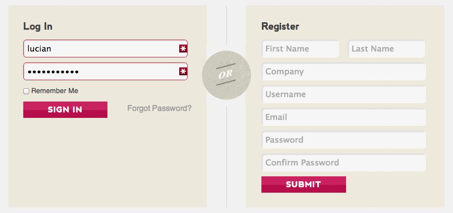 فرم ثبت نام در وردپرس