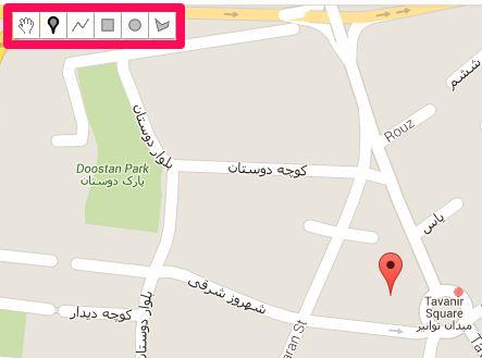 امکانات افزونه نقشه گوگل در وردپرس