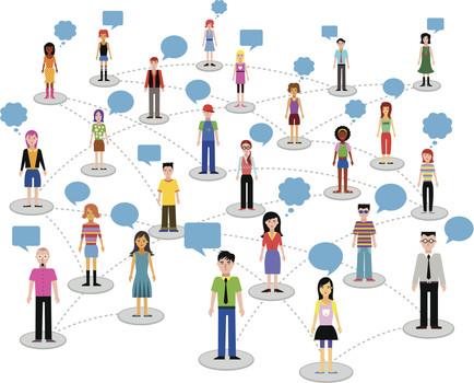 تاثیر شبکه های اجتماعی بر سئوی سایت و فیدبک کاربران
