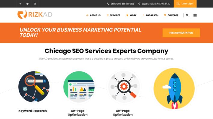 ۲۳ شرکت برتر خدماتی سئو در شیکاگو (بر اساس رنکینگ ۲۰۱۹)