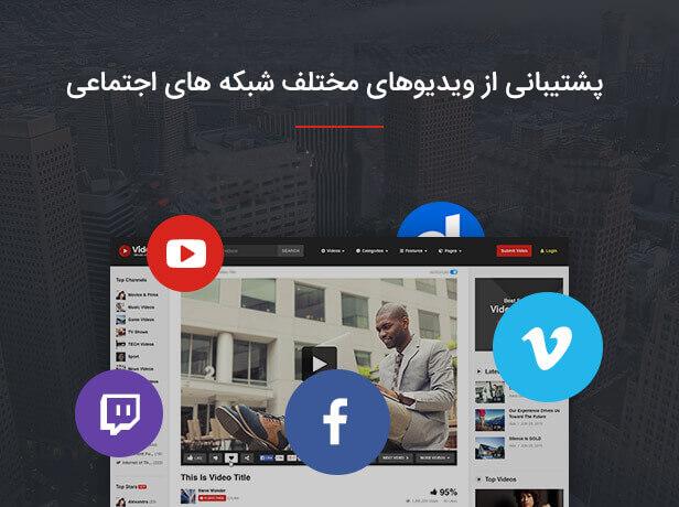 شبکه های اجتماعی در قالب videopro